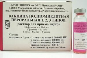 прививка ОПВ от чего