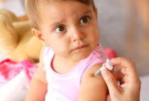 прививка ребёнку фото