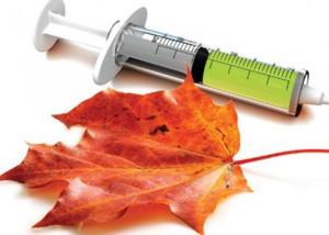 сезонная вакцинация против гриппа