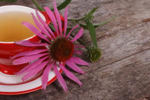 чай и цветок
