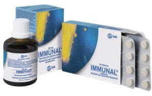 сироп и таблетки «Иммунал»