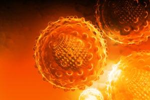 как выглядит вирус гепатита B рисунок