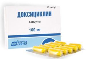 капсулы «Доксициклин»