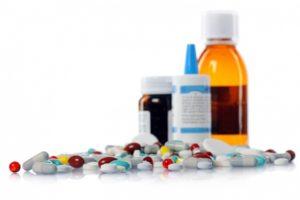 куча разных таблеток