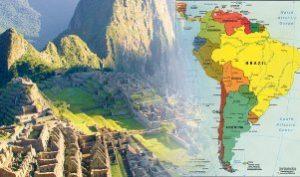Латинская Америка карта