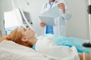 пациентка в коме