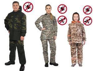 люди в защитной одежде от комаров