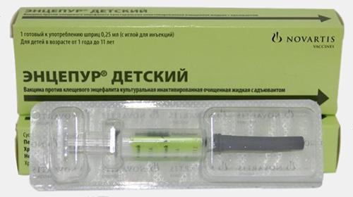 вакцина «Энцепур»