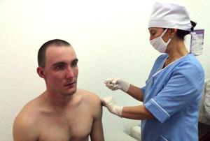 прививки в армии