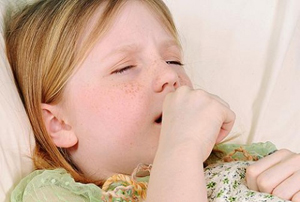 ребёнок болеет коклюшем