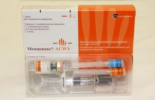 вакцина «Менцевакс ACWY»