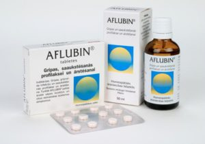 растительный препарат «Афлубин»
