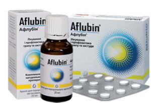 гомеопатический препарат «Афлубин»