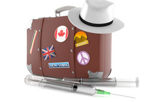чемодан путешественника и лекарства