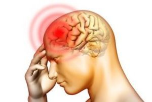 менингит — рисунок области болевых ощущений