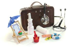 чемодан с лекарствами
