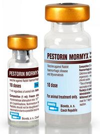 ампулы вакцины Pestorin Mormyx