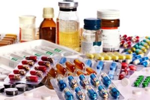 куча разных лекарств
