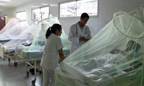 фото людей в стационаре больных лихорадкой Денге